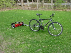 Matt Langley's Original Mower Bike