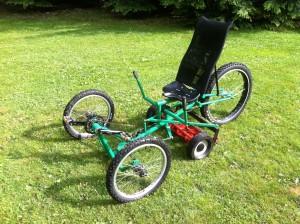 Pedal Powered Lawn Mower by Matt Langley