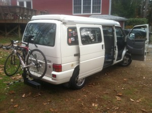 The Eurovan in MY driveway! Just drove her home for the FIRST TIME!
