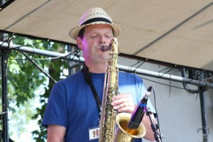 Sending sounds at the Granite State Music Festival