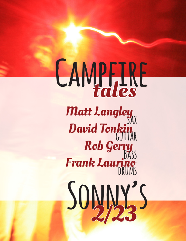 Campfire Tales Gig Poster